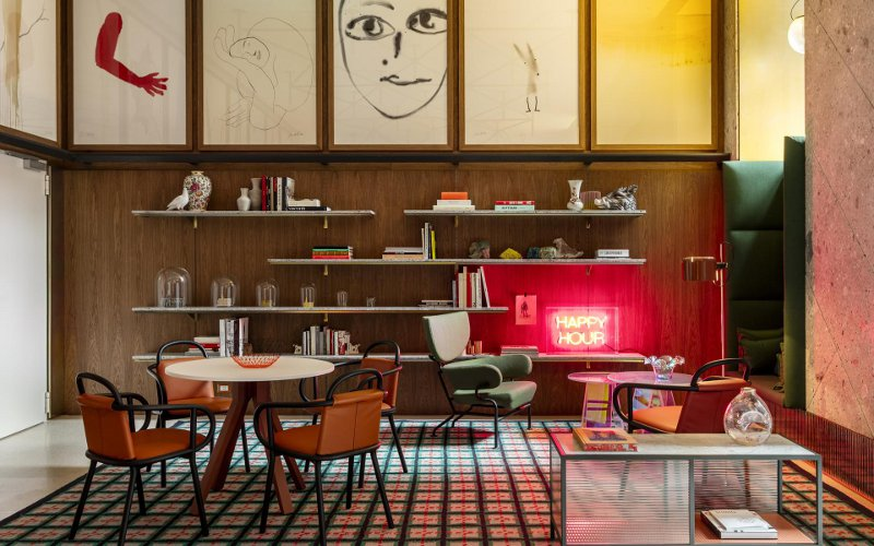 Hotel Room Mate Giulia v Miláne