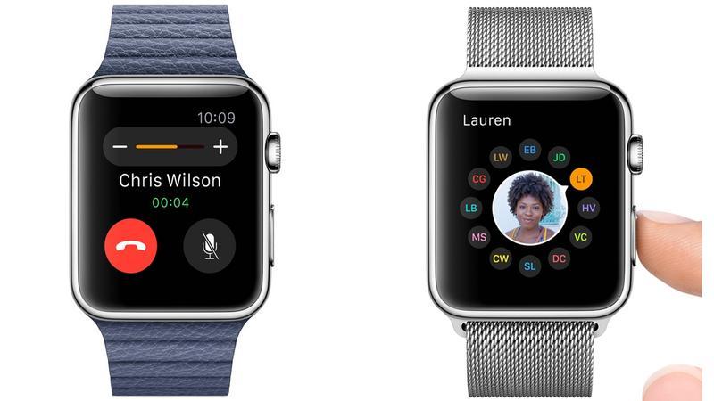 Telefonovanie pomocou hodiniek Applewatch