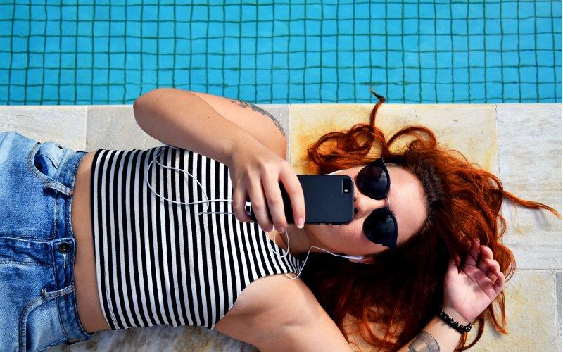 Selfie video zhotovené smartphonom