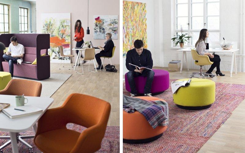 Farebné riešenie kancelárie