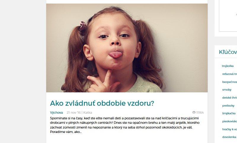 Blog post MackoviaHračky.sk