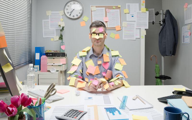 Problémy s organizáciou práce