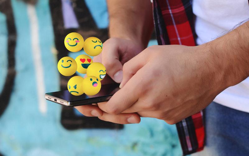 Emoji symboly v mobile