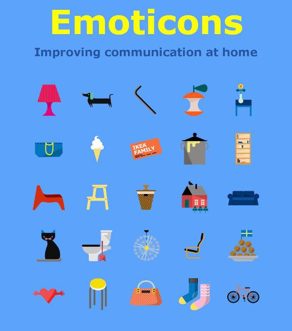 Ikea emoji kolekcia