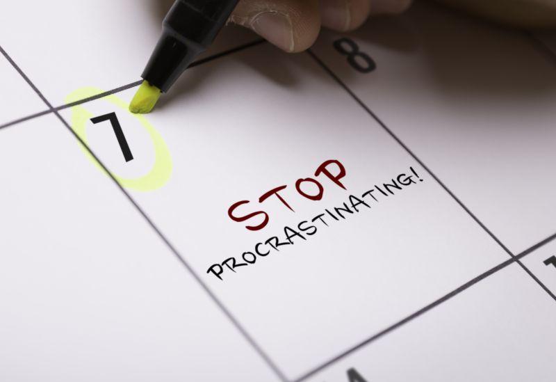 Zastavme prokrastináciu