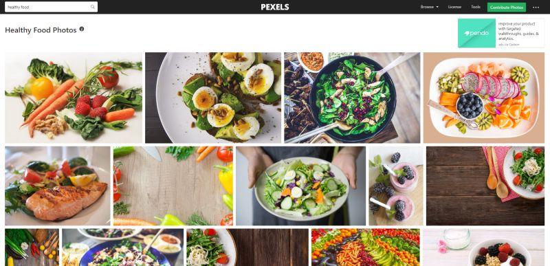 pexels-com databáza
