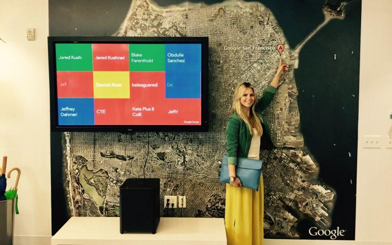 Návšteva Google San Francisco